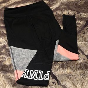PINK Size Small Leggings